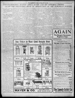 F 1 If I 4 THE WASHINGTON TIMES SUNDAY MAY 31 1903 19O t TERRORSTRICKEN TER 1 ORSTRICKEPV SULTAN SUL TAN ABDUL ABD IL HAMID