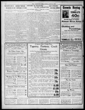 S r iF v I 10 THE WASHINGTON TOTES SUNDAY AUGUST 23 1903 190 PICKPOCKETS BUSY IN INAND INAND I AND AROUND AUUTElTY...