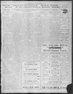v v I t I THE WASHINGTON TIMES SUNDAY NOVEMBER NOVI IBER 22 2 1908 190 IINISTER MINISTER OF mm mmA PA AMA A MAN MAN OF ONEHE