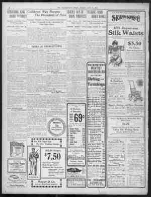 IL j 12 = TEE WASHINGTON W TIMES T IESf FIUDAY FHIDA FIIIUAJUNE y JUNE 24 1901 l9O SENSATIONAL SENSATIONAL NEWS NEWSUNJUST