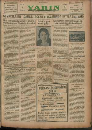 F * 22 Kânunusani 1980 İDAREHANE İstanbul Ankara Caddesi Telgraf: İstanbul YARIN Telefon tesisatı yapılıyor — SEYRİSEFAİN...