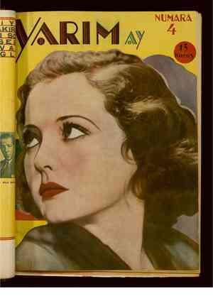 Yarım Ay Dergisi April 1, 1935 kapağı