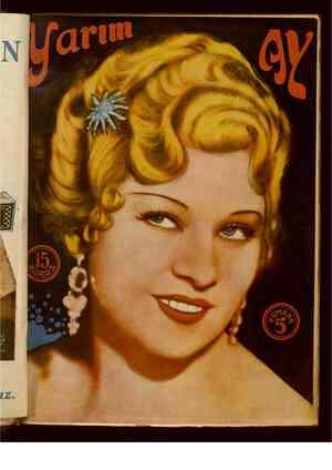 Yarım Ay Dergisi April 15, 1935 kapağı