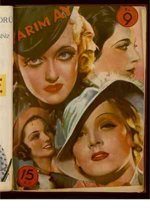 Yarım Ay Dergisi June 15, 1935 kapağı