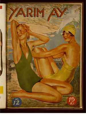 Yarım Ay Dergisi August 1, 1935 kapağı