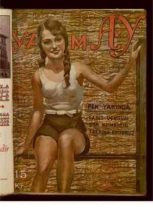 Yarım Ay Dergisi October 15, 1935 kapağı