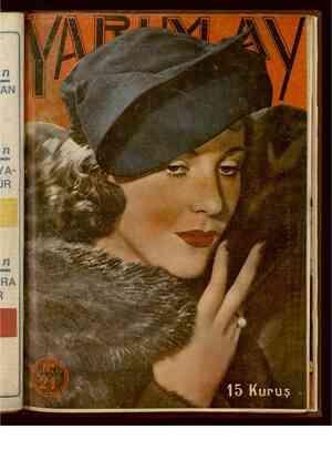 Yarım Ay Dergisi December 15, 1935 kapağı