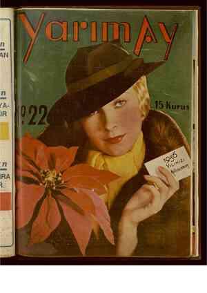 Yarım Ay Dergisi January 1, 1936 kapağı