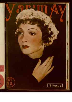 Yarım Ay Dergisi January 15, 1936 kapağı