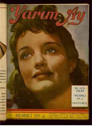 Yarım Ay Dergisi March 1, 1936 kapağı