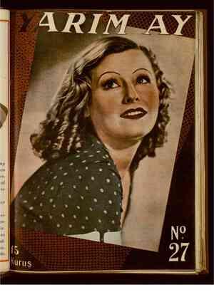 Yarım Ay Dergisi March 15, 1936 kapağı