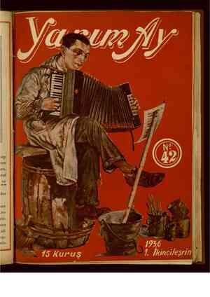 Yarım Ay Dergisi November 1, 1936 kapağı