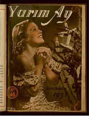 Yarım Ay Dergisi January 1, 1937 kapağı