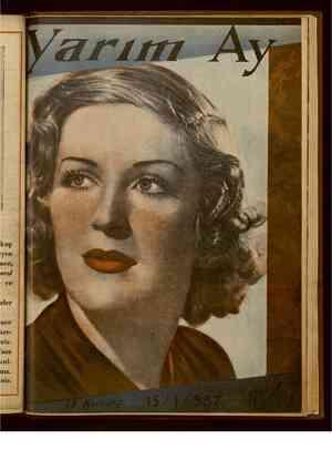 Yarım Ay Dergisi January 15, 1937 kapağı
