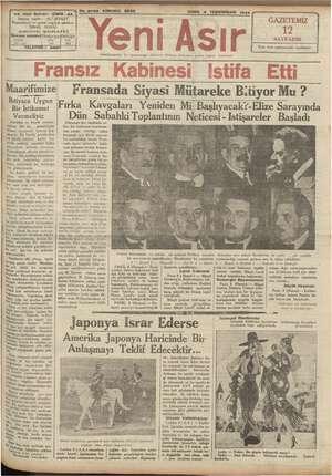 """aa -Gazl Bulvarı - IZMIR - aa 7 ALİ ŞEVKET sahibi : 5 No. 8795 KIRKINCI SENE Yeni GAZETEMİZ """" 1 12. 'FADII SAY Asır..."""