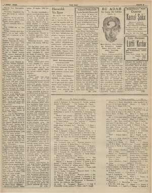 """PA din kd a vE —— """"TE yağ ih Kn ME ee <1 Şubat 1935 Yeni Asır Sane 9 oasaya İcra Dairesinden: e 50 liradan 1500 ix  ..."""