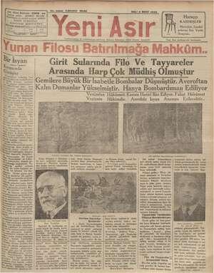 İyi a IZMIR - e AR İNU ENE — SALI 5 MART 1935 Bşmlkarrir ve umu seri BİN. Haraççı KARDEŞLER Mamulatı Sandal- yelerini Her