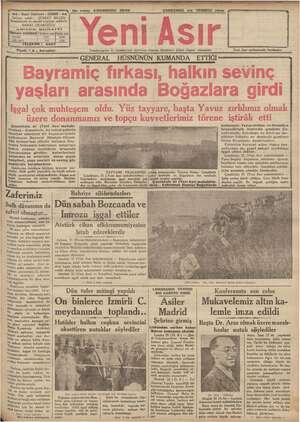gg ————————), No. 95200 BENE ÇARŞAMBA 22 :2 TEMMUZ. 1926. aa - Gazi Bulvarı - IZMIR - aa | DE a eğ m NE gentiyaz sahibi :