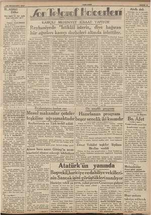 pa N 15 Kânunusan! 1937 ilim ilgisi ile bir asla irca edilebilir mi ? Yazan: Avni Ulusay e harfleri : Hareket ve deal...