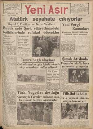 No. 9702 KIRK ÜÇÜNCÜ SENE 10SON -——a OLAR - GAZI A IZMIR - 44 mi ŞEVKET BİLGİN   Dahiliye vekili İstanbulda İ Yeni Asır...