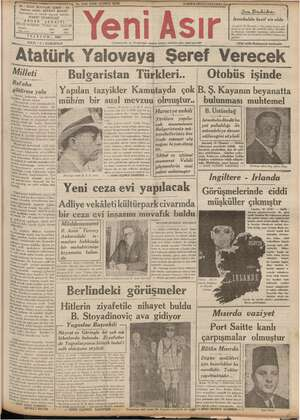 niye ai SEVKET İZMİR - irki ş z an y ! DEER, i 1 — : ş 5 ; p You Buhika, z M4 İstanbulda kesif sis oldu Istanbul, 18...