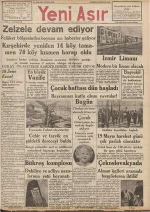"""gerizay ae Başmuharrir v: HAKKI """"OCAKOĞL ŞERA 750 * GAZİ EUR İZMİR - şriyat müdürü U Türkiye için 1400 No. 9840 KIRK ÜÇÜNCÜ"""