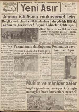 pa BULVARI IZMIR - 44 | No. 10291 Kırk Beşinci Yıl . Fİ İmtiyaz sahibi: ŞEVKET BİLGİN muharrir ve umumi ıt müdürü: İlân...