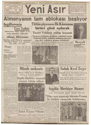 """T7aGAZI BULVARI IZMIR - al No. > Kırk eşe Ya ye Şi 5) KURUŞTUR 23 Sonteşrin Perşembe 1939 Si, kilinin sözleri """"ilya sahibi:"""