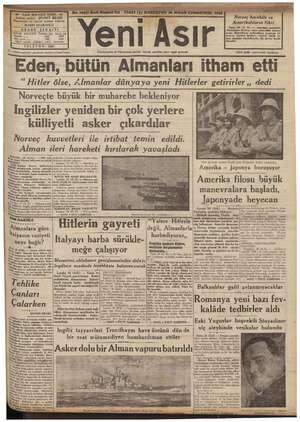 ha, > a İnderecatından gazetemiz mesuliyet kabul etmez. Eden, bütün Yeni Ası Cümhuriyetin v8 Cümhuriyet eserinin bekçisi,