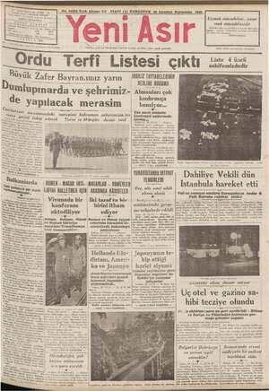 """ al Mimi PULU Mal EM No. 10583 Kırk Altıncı Yıl FİATI (5) 29 Ağustos Persembe 1940 ruha —- > eğ Uçmak mücadelesi, yaşa- e"