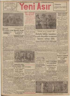 """..   No. 10714 Kırk Altıncı Yıl FİATİ (5) KURUŞTUR 12 SONKANUN PAZAR 1941 44 - GAZİ BULVARI İZMİR - 4 ir"""" m ig İmtiyaz..."""