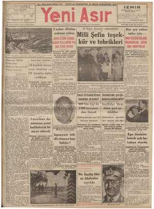 No. 10818 Kırk Altıncı Yl o FİATİ (5) KURUŞTUR 26 NİSAN 1941 H - GAZİ BULVARI İZMİR - İmtiyaz sahibi : ŞEVKET BİLGİN İN...