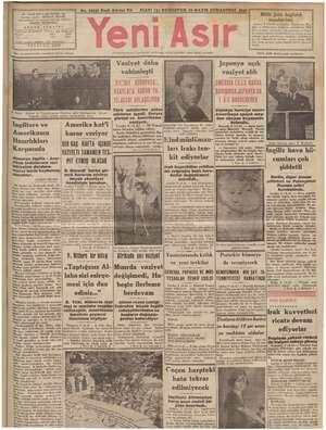 "No. 10832 Kırk Altıncı Yl o FİATI (5) KURUŞTUR 10 MAYIS CUMARTESİ 1941 Zİ BULVARI İZMİR - ""İTS ZEREN mİ — a — —— m — aki e)"