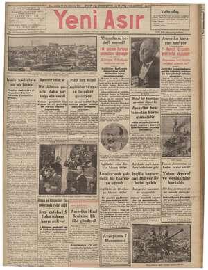 """> No. 10834 Kırk Altıncı Yıl oo FİATİ (5) KURUŞTUR İ 1941 gmiyaz sahibi"""": ŞEVKET iz V d muharrir ve muml meziyet müd ürü *"""