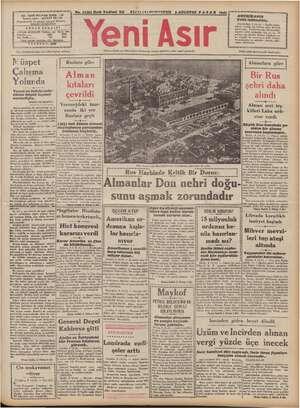 No. 11283 Kırk Yedinci Yıl o FİATİ (S)KvRTSTUR 9 AĞUSTOS PAZAR 1942 - GAZİ BULVARI İZMİR . 116 İk a DEE AMAN çe MEM...