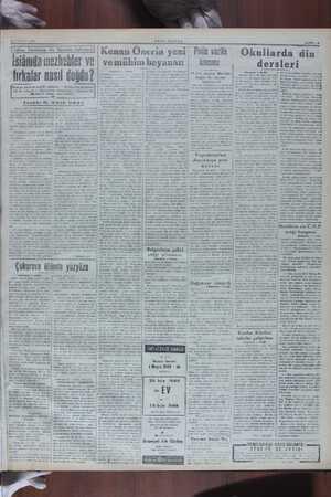 | O SUBAT 1948 İMuaviye hakkında çeş aid bir kehanet — Muaviy: azamn: N. acühinin sözü ile, Hindin namuslu olduğu...