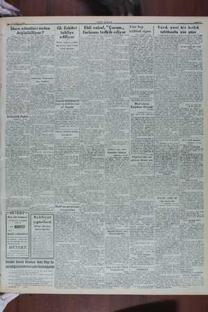 ae — 18 TEMMUZ 1919 İdare adamları neden değiştiriliyor ? — Baş taratı 1 incide Tayinler hakkında yapılan meyen tayin...