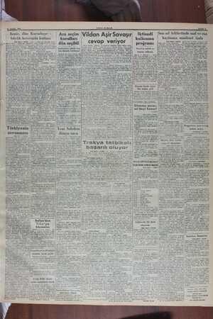 ' 10 EYLÜL 1949 LA İzmir, drüıırKıırlııluşur ı büyük heyecanla kutlaaı (Bap tarafı 1 inolde) Ginlerce balkın — vevinp gön