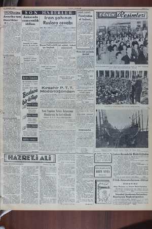 21 TEMMUZ 1950 Amerika tam Hazırlıkta: ister  Truman, — köngreden, Amerikanın tamamiyle harbe bazırlanması geniş ...