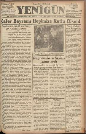 Sükrü 'BALCIOĞLU, Sahibilve Basjmuharriri Gazeteye ait yazılar; Neşriyat ; Milürü adına gönderilmelidir? İlinların (her
