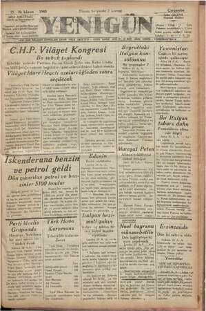 Gazetey' | Müdürü, Ml gönderimi i e. 5 HER GUN LEDEN SONRALARI ÇIKAR HALK GAZETESİ — TESİS TARİHİ 1926 Fır 12 SAYI 25 ilk