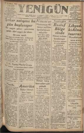 """Öğleden Sonra Çikar günlük siyasi is'k gazetesi — TESİZ Ta: Nal SAYISI 2 KURUŞTUR"""" N 1923 YI. 13 Pati 2946 Telefon 1/- 48"""