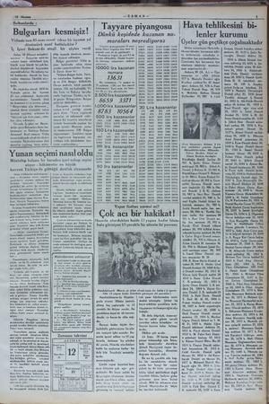 —ZAMAN -— Bnlhnhldl : Bulgarları kesmışız' Vidinde tam 85 sene evvel cıkan bir isyanın yıl dönümünü nasıl kutluladılar ? İç