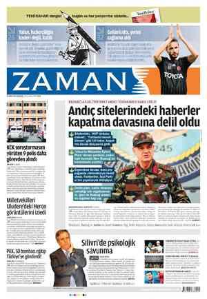 Zaman Gazetesi 16 Şubat 2012 kapağı