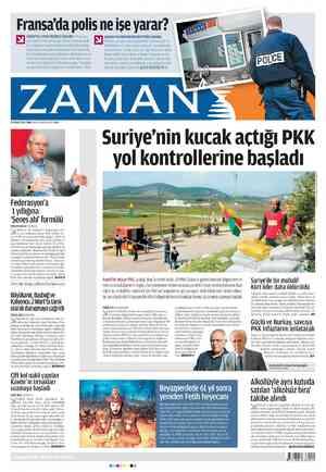Zaman Gazetesi 17 Şubat 2012 kapağı