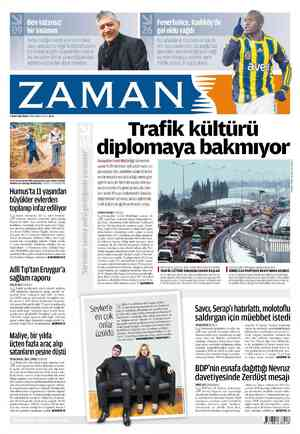 Zaman Gazetesi 4 Mart 2012 kapağı