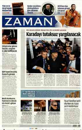 Yılın en iyi dergi kapağı Li lale IN 4 OCAK 2013 CUMA WYNZAMANCOMIR S0 Uzlaştırıcılar göreve başladı, yargının iş yükü...