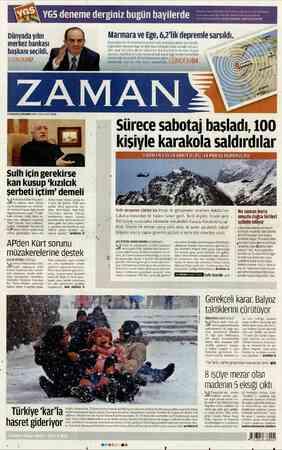 gi 10 denemelerle hazırla Marmara ve Ege, 62'lik depremle sarsıldı. Bozcaada'nın 50 kilometre açıklarında meydana gelen 6,2